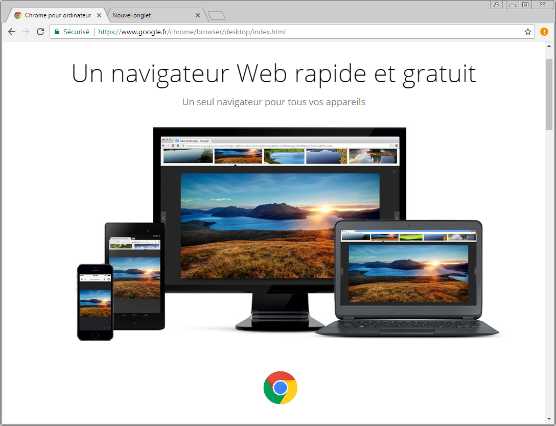 installer google chrome gratuitement